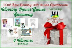 Winning Moves Games Giveaway Ends 12/25 - 4 Winners ~ Tales From A Southern Mom