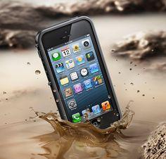 Case à prova d'água para iPhone 5 com alto grau de proteção contra quedas