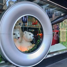 Unbearably cute... we couldn't bear not sharing the #myer Christmas Windows #melbourne