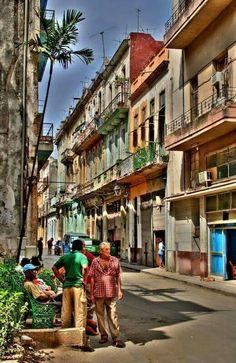 Streets of Havana. Where exactly ? Don't remember.
