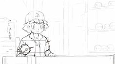 """""""Pikachu and Ash's Reunion"""" student animation by Jeremie Becquer."""