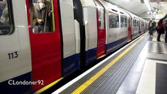 London Underground Piccadilly Line Holborn to Covent Garden 1973 Tube stock Filmed on 23rd October 2015