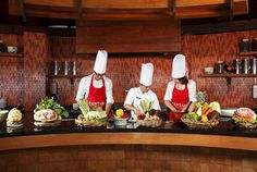 Cooking classes are just one of the many activities offered at Centara Ras Fushi Resort & Spa, #Maldives.