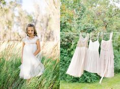 Delicate Lace Outdoor Wedding - Once Wed