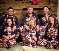 Matching Nordic Winter onesie pajamas from Snug As a Bug.  snugasabug   matchingpajamas   b623bb827