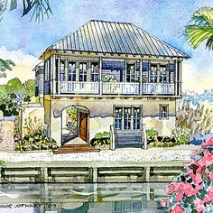 Interesting....     I'On Idea House - Top 25 House Plans - Coastal Living