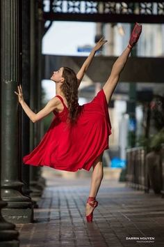 Dancing in the street.