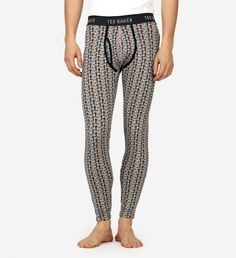 Jonski Ski Man Long John Ted Baker $65 | For the frozen pond, hitting the slopes or an extra layer of warmth on the morning commute, these organic cotton-blend long johns will keep bottoms snug in amusing style. | GOTSTYLE.ca