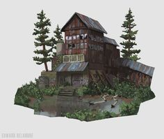 ArtStation - Good Bot and hotel , Edward Delandre