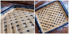 Tvarohovo-makový mřížkový koláč - Avec Plaisir Pie, Bread, Baking, Food, Torte, Cake, Fruit Cakes, Brot, Bakken