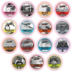 Brooklyn Beans Assorted Coffee Variety Pack Single-Cup coffee for Keurig K-Cup Brewers, 40 Count >> Additional details @ : Fresh Groceries