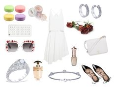 """Bridal Shower Bash with BenGarelick.Com"" by bengarelick ❤ liked on Polyvore featuring Kate Spade, TIBI, Furla, Gucci, MICHAEL Michael Kors and Prada"