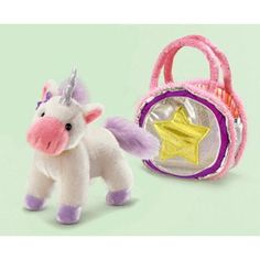 "Russ Berrie Fancy Schmancy Unicorn Purse Pet With Sound 9"" * Click on the image for additional details. (This is an affiliate link) #DressUpPretendPlay"
