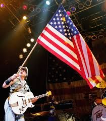 Ted Nugent waving the flag! #America #patriotic