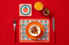 Hokolo tomatoes placemat coaster