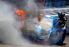 Rough end to the day for Kasey Kahne. CLICK the image to watch the replay.