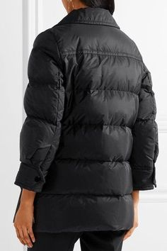 Prada - Quilted Shell Down Jacket - Black