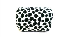 """Black and white spots"" Mamma-pillo, the ultimate wearable (over arm) breastfeeding and bottle feeding nursing support pillow!  Order via our webstore www.mammapillo.com.au"