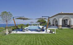 St.Tropez Luxury Villa Design Modern, Peninsula 1: Pool Overlooking Ocean Pendulum ~ olpos.com Luxury Designs Inspiration