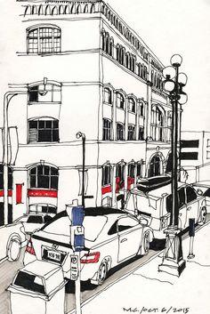 Recent Victoria Sketches | Urban Sketchers