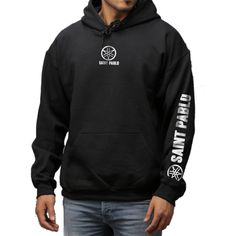 Kanye West Saint Pablo Tour Merchandise Hoodie as seen on Kanye West