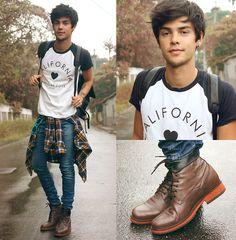 R Umjungle Jeans, Runjungle Plaid Shirt, Ufreakb T Shirt, Guidomaggi Madrid