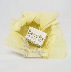 Beeofix: Upcycling Bienenwachstuch *Werbung