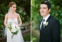 bride and groom portraits at villa carmelita in palm springs