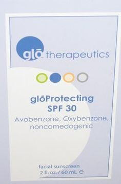 GloProtecting SPF 30 2oz by GloMinerals. $31.00. For all skin types, well suited for oily skin types and general preventative care. Light moisturizing base. Worn by all skin types. Enhances elasticity. Hydration and sun protection. GloProtecting SPF 30 2oz Protect the damaging rays of the sun. UVA and UVB rays are blocked with this skin protecting formula. Prevents age spots and other discolerations from forming as well as skin cancer. Can be used on all skin types...