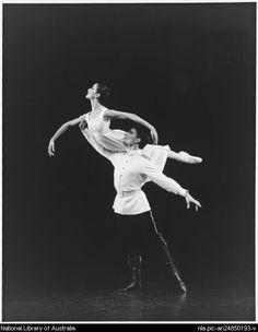 Vicki Attard and David Mcallister in Graeme Murphy's Nutcracker, 1994. #energetiks