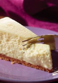 PHILADELPHIA Classic Cheesecake – This is the real deal—everything you imagine a cheesecake recipe to be. Creamy. Rich. Delicious. Plus, you made it yourself.