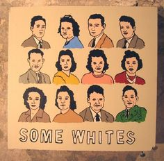 SOME WHITES by derekerdman on Etsy