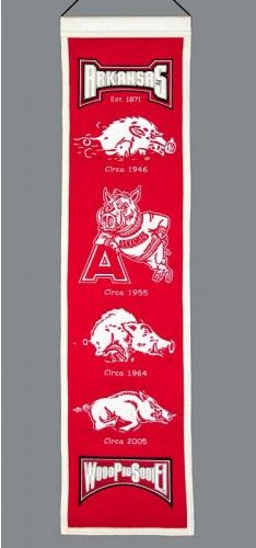 University of Arkansas Outdoor TV Cover w// Razorbacks Logo