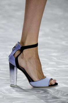"""The Best Shoes, Bags, and Baubles on the 2015 Runways: You don't have to be a self-proclaimed """"shoe person"""" or """"bag person"""" to appreciate the accessories coming down the Spring 2015 runways."""