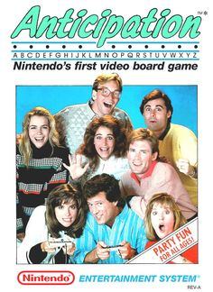 anticipation (nes) very good - cart only !! from $5.0