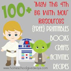 100 May the be with You Resources Homeschool Giveaways - Star Wars Men - Ideas of Star Wars Men - Get ready for Star Wars Day May with this HUGE list of resources! Party in style and have fun learning too! Star Wars Girls, Star Wars Day, Star Wars Birthday, Birthday Games, Birthday Wishes, Birthday Parties, Party Activities, Activities For Kids, Spring Activities