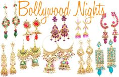 """""""Bollywood Nights"""" by adorn-and-sparkle on Polyvore"""
