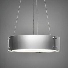 "Sleek. Modern. An all #metal beauty. #Invicta 16358 pendant comes in 24"", 30"" 36"", & 48"" diameters. #UltralightsLighting #lights #lighting #lightingdesign #homedecor #interiordecor #interiordesign #interiorstyling #interior #interiors #design #hotel #hoteldesign #hospitality #hospitalitydesign #pendant #pendantlighting #hanginglight #ceilinglights #ceilinglight #madeinUSA #handmade #fabricate #manufacture"