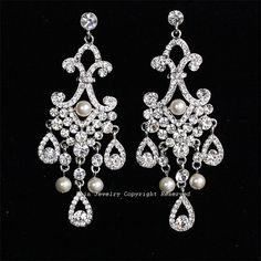 I want to wear gorgeous earrings every day of my life!  Why wait for those rare special occasions??