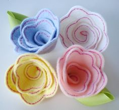 Three Dimensional Rose, In The Hoop - 2 Sizes! | Products | SWAK Embroidery