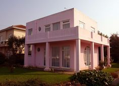 Gorgeous Art Deco Baby Pink House Available Design Decor