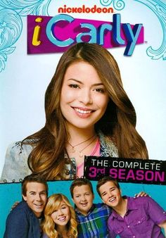 iCarly: The Complete Season DVD ~ Miranda Cosgrove Icarly Season 3, Movies Showing, Movies And Tv Shows, Nickelodeon Shows, Miranda Cosgrove, Old Shows, Kids Tv, Cultura Pop, Best Shows Ever