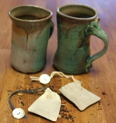 The sustainable series: 7 environmentally friendly product swaps - Mollie Makes Emma Bridgewater, Easy Sewing Projects, Craft Projects, Craft Ideas, Eco Store, Green Tea Bags, Mollie Makes, Green Craft, Wraps