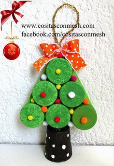 4 Bonitas manualidades navideñas para hacer con niños | Aprender manualidades es facilisimo.com