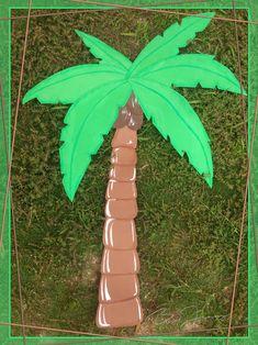 Palmera para Decoración de Dinosaurios hecho en Foamy. Más fotografías dando clic a la imagen. Baby Shower, Printable Banner Letters, Dinosaur Decorations, So Done, Baby Showers, Babyshower