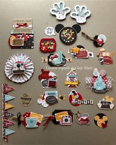 Ek Success, Paper Doilies, Ice Ice Baby, Circle Punch, Small Heart, Mickey Ears, Gold Glitter, Embellishments, Card Stock