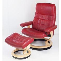 Stressless Norwegian Red Leather - Lot 1057253 | ALLBIDS