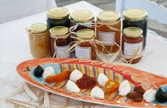 Homemade jams and marmelades to taste and buy!