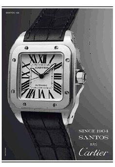 """A Cartier volta a investir em seus ícones que melhor traduzem a história da marca, trazendo para seus novos anúncios os princípios que dirigem a maison: tradição, desenho clássico e atemporal e o artesanal. As """"estrelas"""" da atual campanha serão dois de seus relógios mais clássicos: o Tank Française e o Santos e os anos …"""