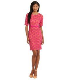 Maggy London Star Flower Lace Dress | Dillards.com